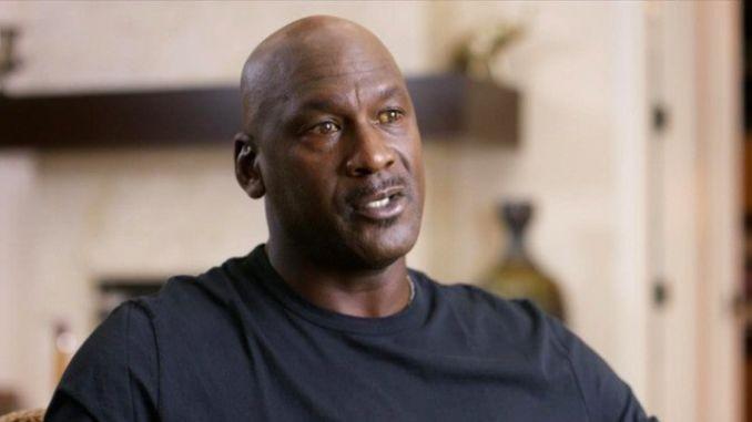 Michael Jordan, durante un momento del documental The Last Dance