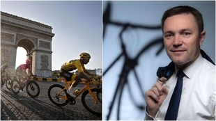 David Lappartient, presidente de la Unión Ciclista Internacional.