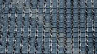 Gradas vacías en el estadio del Gladbach