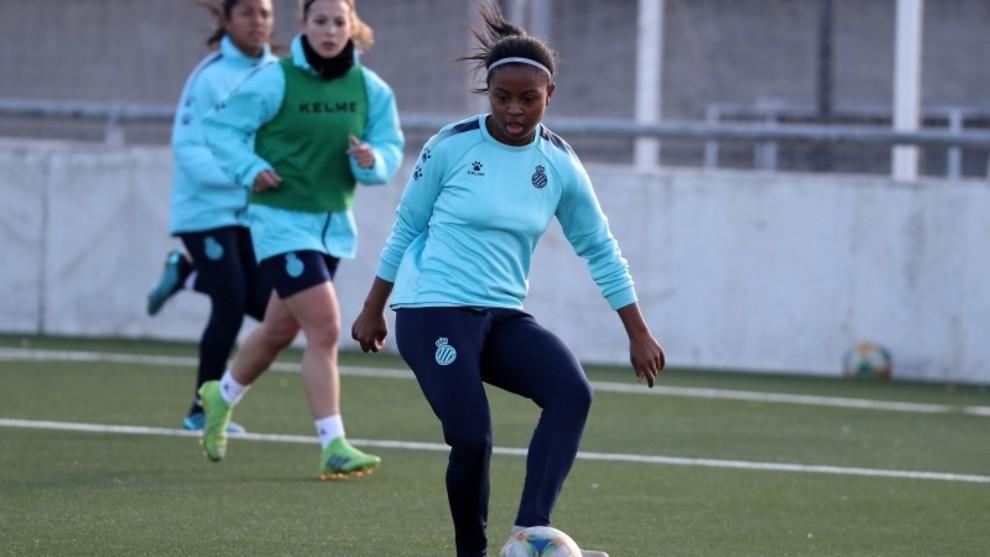 Imagen de archivo de un entrenamiento del Espanyol Femenino