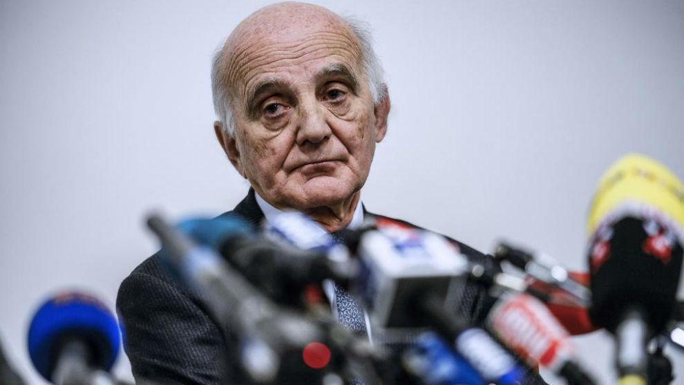El responsable médico de la FIA, Gerard Saillant.