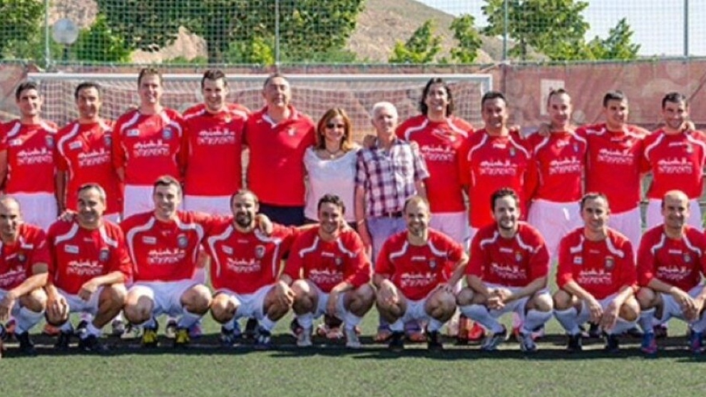 Imagen de la plantilla del equipo riojano del Villegas (Twitter del...