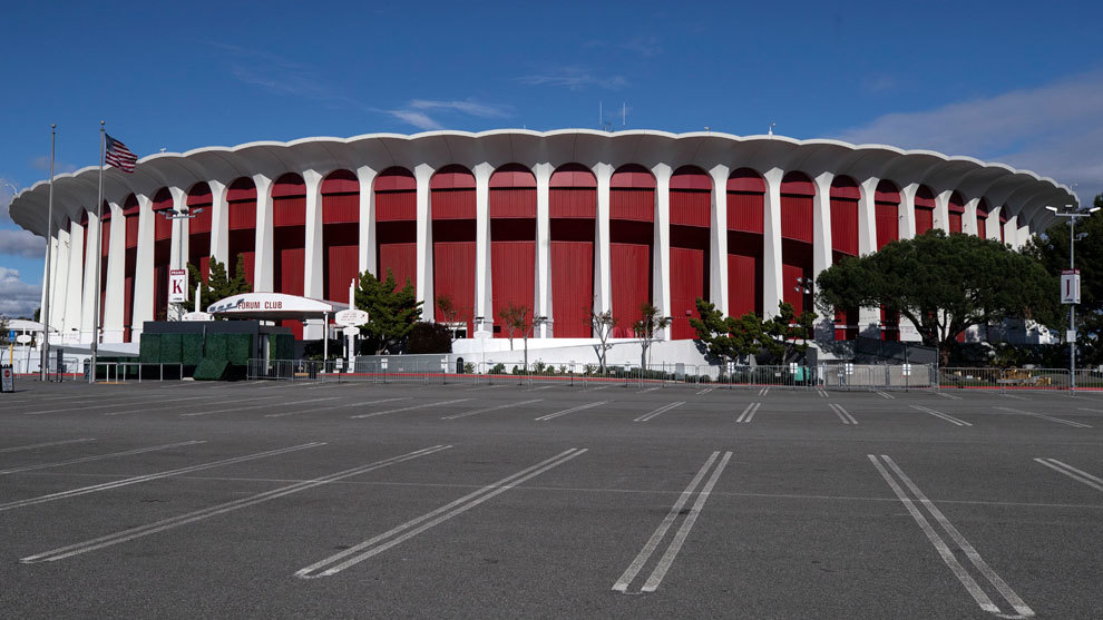 Vista del Forum de Inglewood