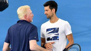 Becker habla con Djokovic