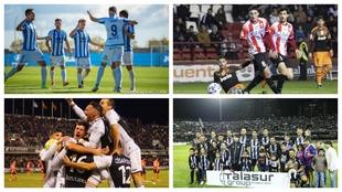 Atlético Baleares, Logroñés, Castellón y Cartagena, líderes de...