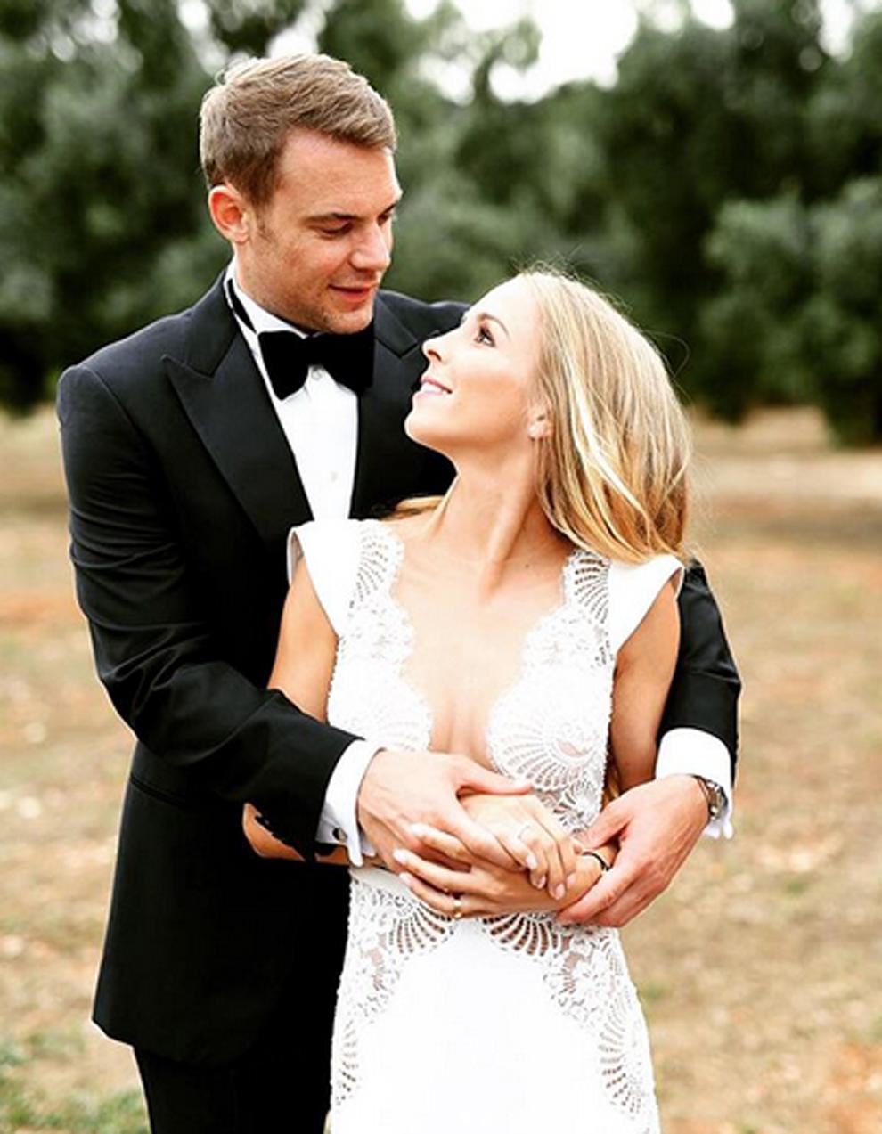 Manuel neuer with ex-wife nina weiss | MARCA English