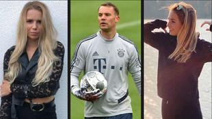 En Alemania relacionan a Manuel Neuer (34) con Anika Bissel (19 tras...