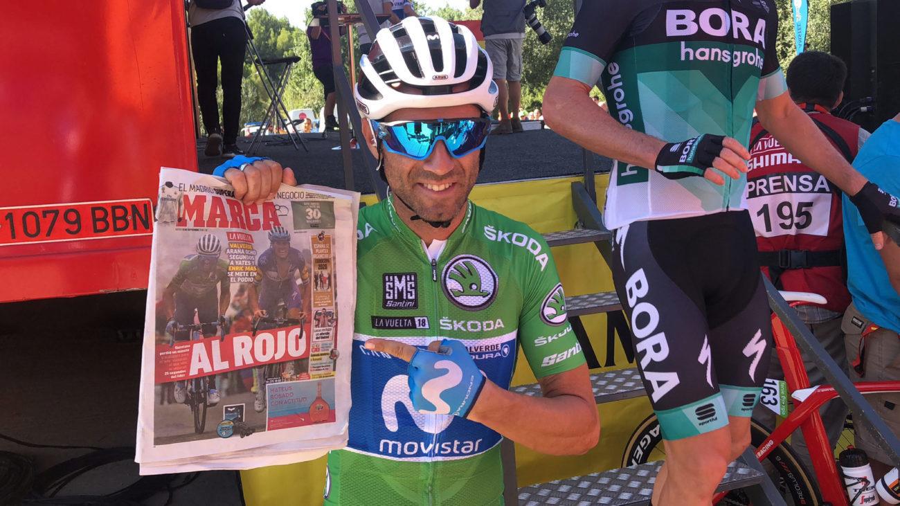 "Alejandro Valverde: ""Haré Tour, Lieja, Flecha Valona, LaVuelta y Mundial"""