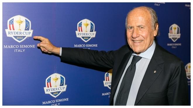 Franco Chimenti, presidente de la Federación Italiana de Golf