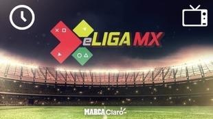 Horarios y dónde ver la jornada 8 de la eLiga MX.