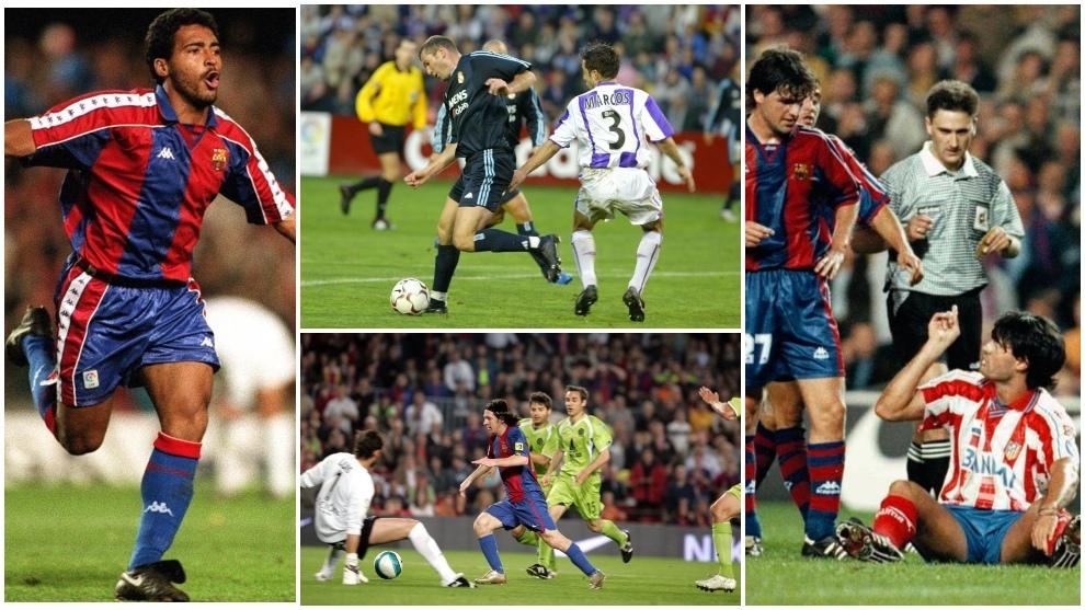 Romario, Zidane, Messi, Caminero... y sus 'víctimas': Alkorta,...