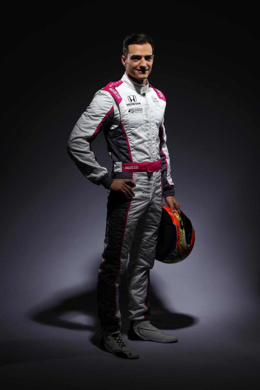 El español compite con el equipo Dale Coyne Racing.