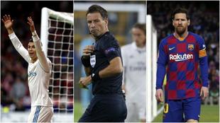 Clattenburg revela cómo es arbitrar a Cristiano, Messi o Luis Suárez