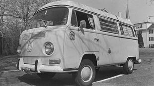 El Volkswagen Tipo 2 con el que Jeff Johnson vendía zapatillas...