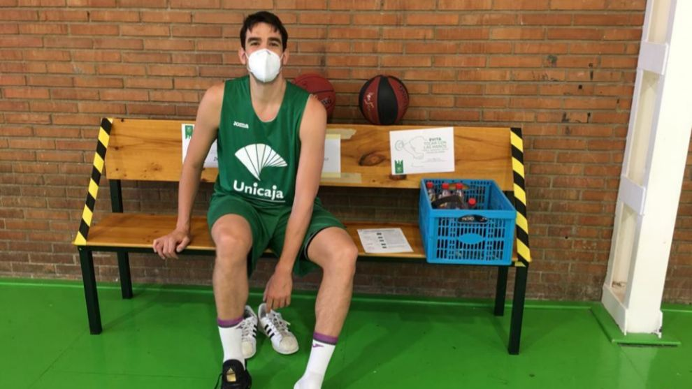 Carlos Suárez, en las instalaciones del Unicaja.