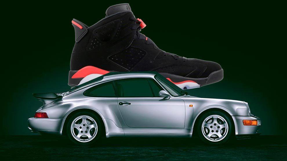 Cuando Michael Jordan diseñó unas Nike inspiradas en Porsche y Ferrari