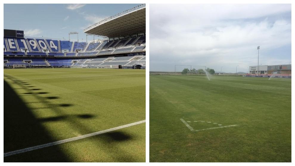La Rosaleda y la Ciudad Deportiva del Extremadura, a punto