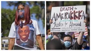 Protestas en Georgia.