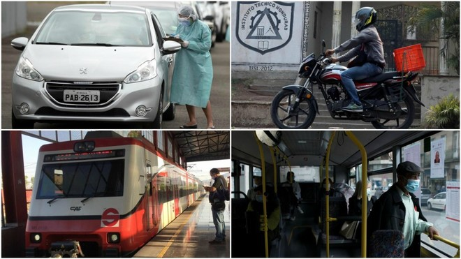 Movilidad en fase 1: El BOE publica cómo viajar en coche, moto ...