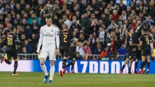 Gareth Bale, durante un partido esta temporada.