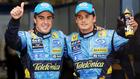 Alonso y Fisichella.