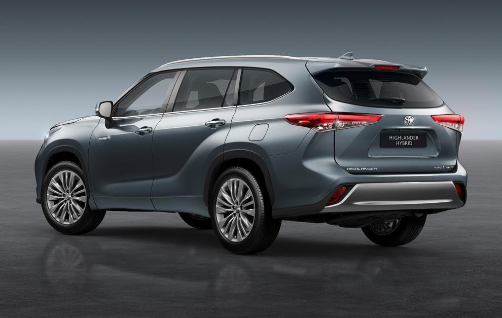 Toyota Highlander Hybrid 2021.
