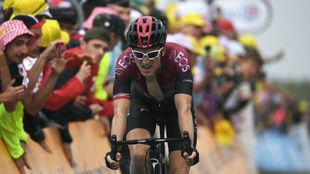 Geraint Thomas en el pasado Tour de Francia.