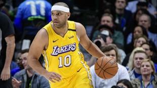 Jared Dudley, durante un partido de los Lakers.