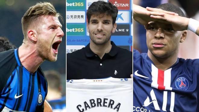 Letrista temor Intento  Fichajes: El mercado de fichajes de hoy en directo: Cabrera, Mbappé, Bale,  Kanté y ¿un central para el Madrid? | Marca.com