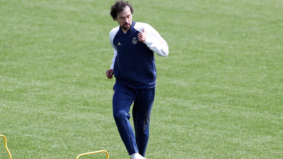 El Real Madrid regresa a la actividad con prácticas al aire libre.