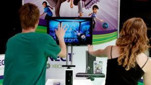 La Feria de videojuegos Gamelab, en Barcelona.
