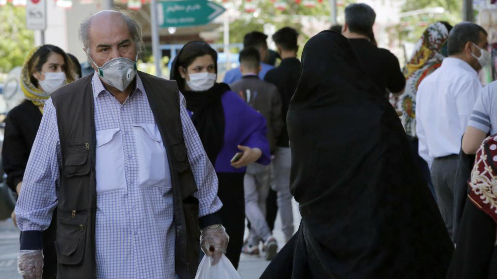 Una imagen de Teherán, capital de Irán