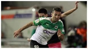 David Barral, durante un partido
