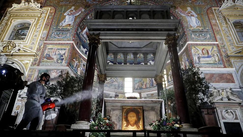Basílica Santa María de Roma.