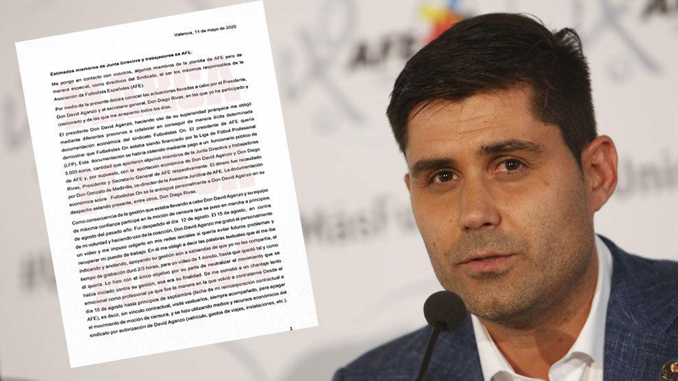 Escándalo en AFE: David Aganzo, acusado de cohecho