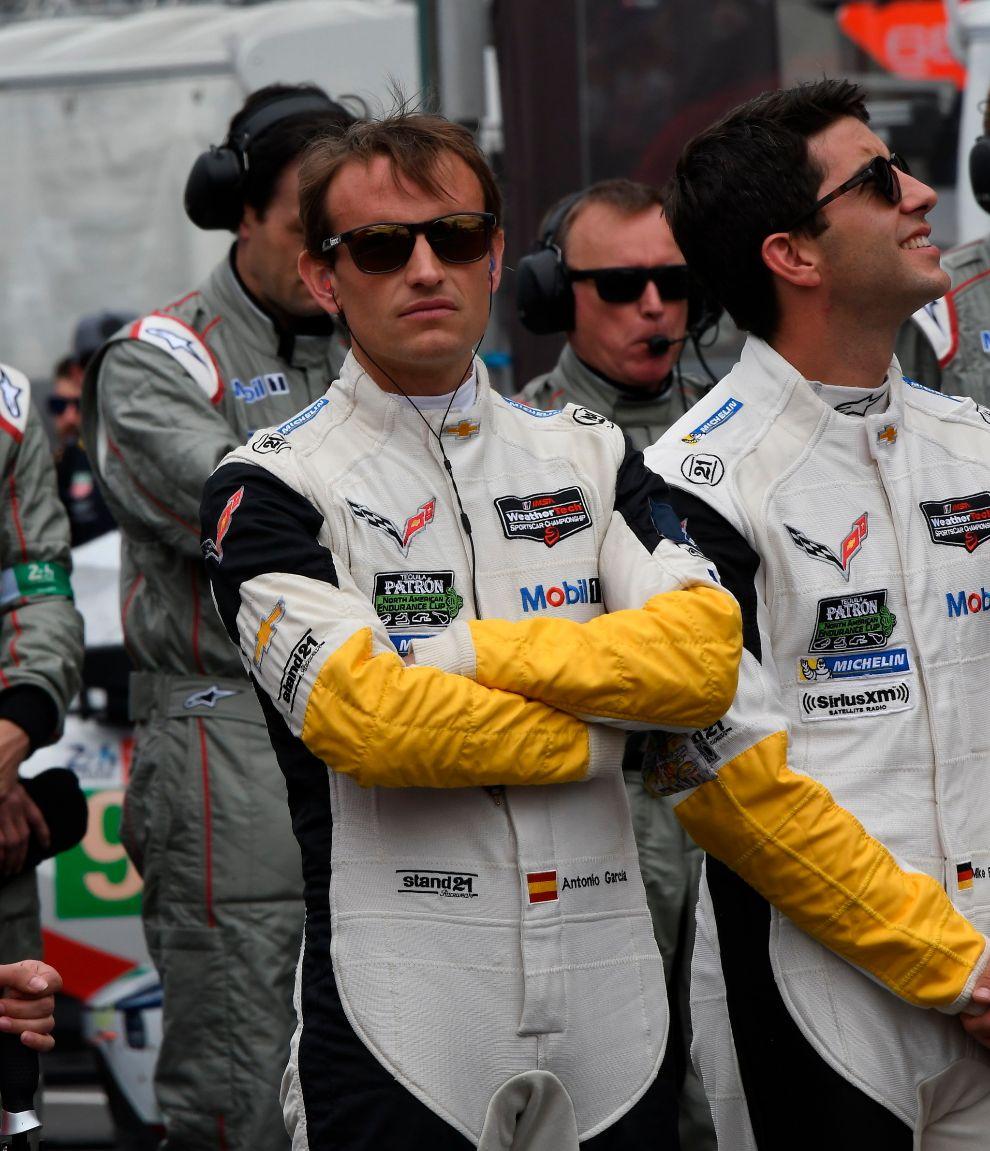 Antonio García no estará en las próximas 24 Horas de Le Mans.