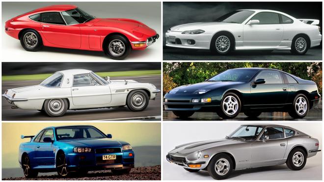 Los mejores coches japoneses de la historia: elige los que más te gustan