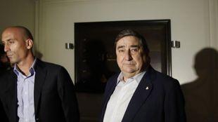 Luis Rubiales y Lendoiro, hace unos años en La Coruña