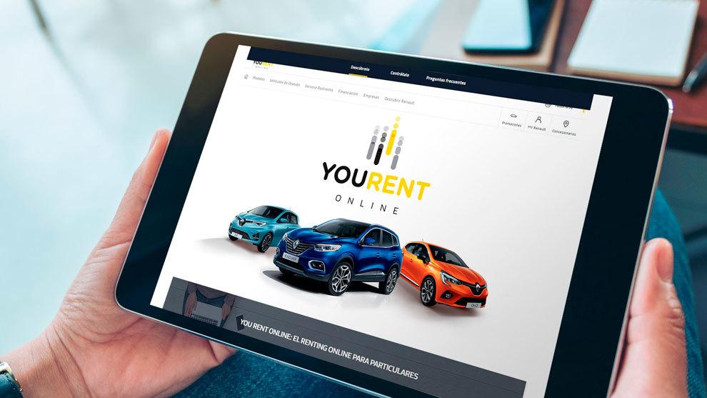 Renault lanza un servicio de renting online para estrenar coche desde casa