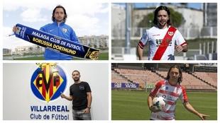 Málaga, Rayo, Villarreal y Granada, cuatro de los cinco equipos...