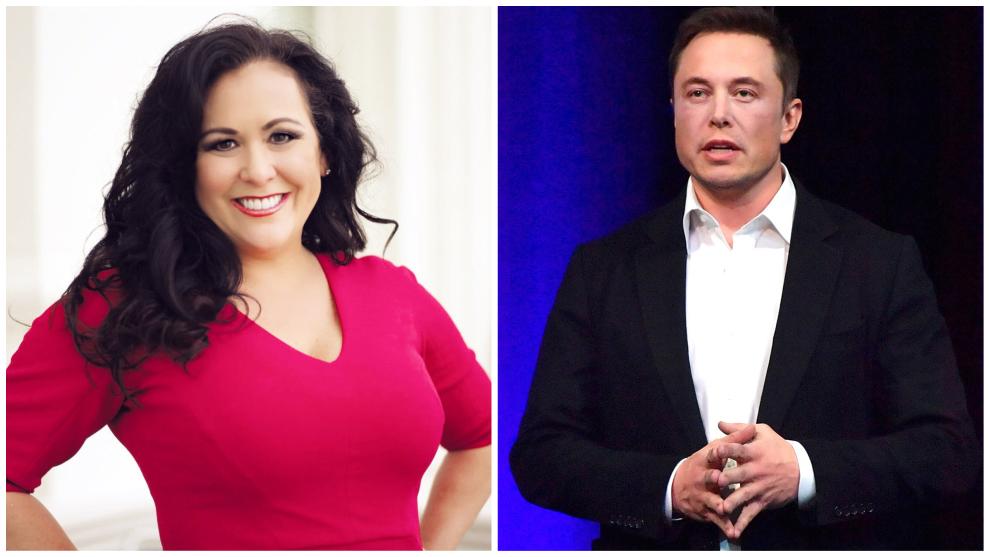 La congresista de California Lorena González y el presidente de Tesla...