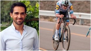 Contador y Evenepoel.