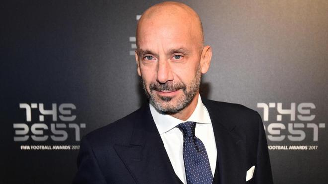 Vialli, durante una gala de los premios The Best.