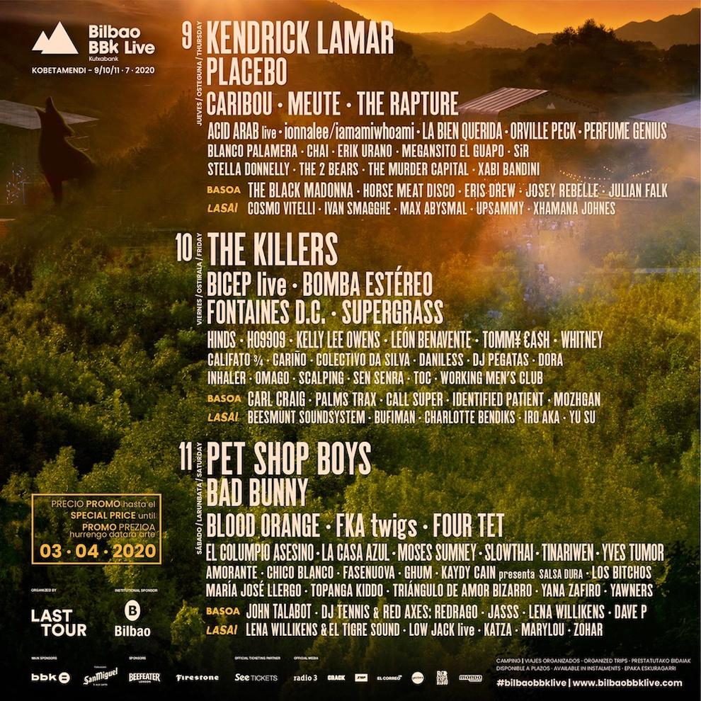 BBK LIVE 2021 8-9-10 julio: Killers, Bad Bunny y Pet Shop Boys dentro, ¿se cae Kendrick Lamar? Se viene el drama - Página 13 15893803893026