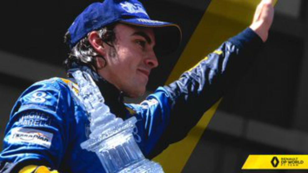 El mensaje de Renault a Alonso, al que el piloto ha contestado.