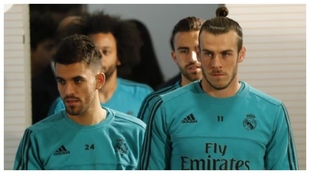 Ceballos y Bale, juntos en el Real Madrid.