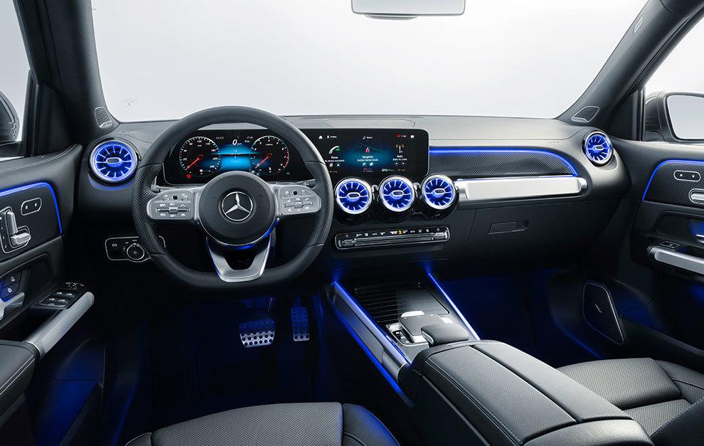 El aspecto del interior es el de un Mercedes de última generación.