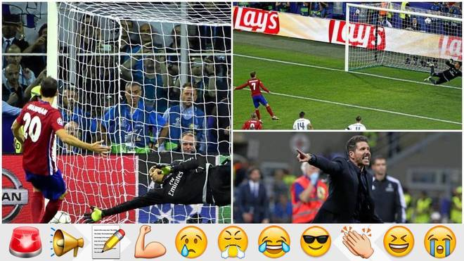 Clattenburg was wrong; Simeone, Griezmann and Juanfran too
