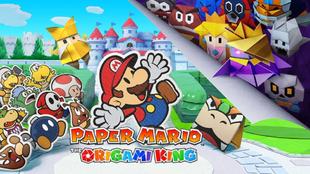 Paper Mario: The Origami King debutará en Switch en julio próximo.