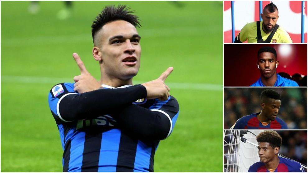 Inter's final shortlist for Lautaro swap deal
